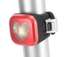 Knog - Lampka pozycyjna Blinder 1 Heart USB tył