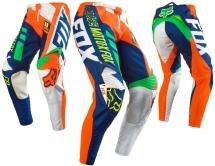 FOX - Spodnie 360 Divizion Orange Blue