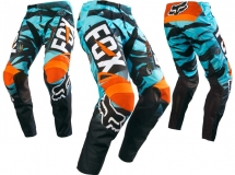 FOX - Spodnie 180 Vicious Aqua Junior