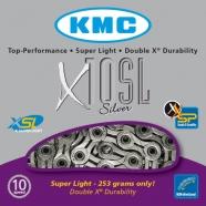 KMC - Łańcuch X10SL Silver