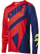 Shift - Jersey 3lack Mainline Navy Red