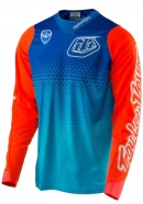 Troy Lee Designs - Jersey SE Starburst Cyan Blue