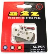 A2Z - Klocki do hamulców Avid X0 Trail, Sram Guide AZ 293A Silver