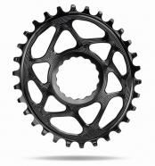 AbsoluteBlack - Zębatka RaceFace Cinch Direct Mount Oval Boost 148mm