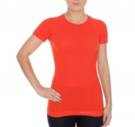 Brubeck - Koszulka damska Active Wool krótki rękaw
