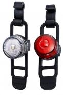 Cateye - Zestaw lampek SL-LD140-R LOOP 2 / SL-LD140-F LOOP 2