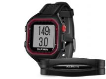 Garmin - Garmin Forerunner 25 HR (czarno - czerwony)