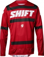Shift - Jersey 3lack Strike Dark Red