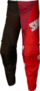 Shift - Spodnie Whit3 Tarmac Black Red Junior
