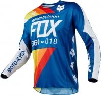 FOX - Jersey 360 Draftr Blue