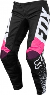 FOX - Spodnie 180 Black Pink Junior Lady