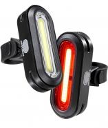 Kryptonite - Zestaw lampek pozycyjnych AVENUE F-100 / R-50 COB LED