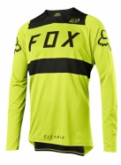 FOX - Jersey Flexair Preest Yellow Black