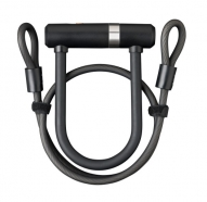 AXA - Zapięcie rowerowe Newton UL Mini + Double Loop