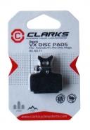 Clarks - Klocki hamulcowe VX850C organiczne do Formula One, R1, Mega, RX, R0, T1