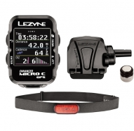 Lezyne - Komputer rowerowy Micro Color GPS HRSC Loaded