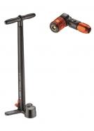 Lezyne - Pompka serwisowa STEEL DIGITAL DRIVE ABS2