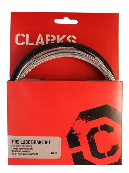 Clarks Zestaw hamulcowy Pre Lube Water Carbon MTB/Szosa