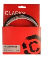 Clarks - Zestaw hamulcowy Pre Lube Water Carbon MTB/Szosa