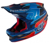 Troy Lee Designs - Kask D3 Render Navy CF MIPS