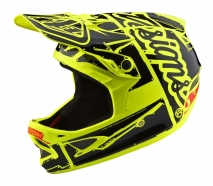 Troy Lee Designs - Kask D3 Factory Neon Yellow
