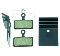 Clarks - Klocki hamulcowe VX852C organiczne z radiatorem do Shimano XTR