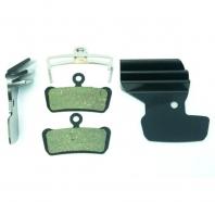 Clarks - Klocki hamulcowe VX859C organiczne z radiatorem do SRAM Guide