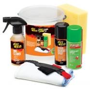 Weldtite - Zestaw produktów do czyszczenia i pielęgnacji roweru Dirtwash Pit Stop Cleaning Kit