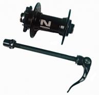Novatec - Piasta przednia NT-D041SB-9 oś 9mm sztywna oś