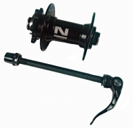 Novatec - Piasta przednia NT-D041SB-9 oś 9mm sztywna ośka